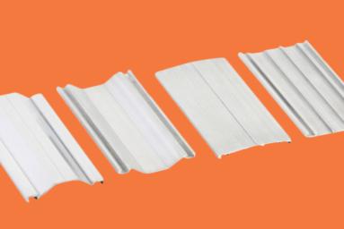 Perfil de alumínio para cobertura de policarbonato